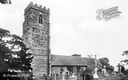 Church c.1935, Weston Under Penyard