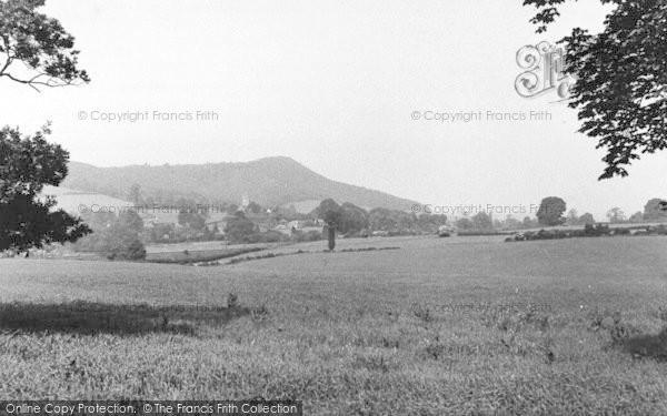 Photo of Weston Under Penyard, Penyard Hill c.1955