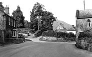 Weston Under Penyard, Post Office Corner c1955