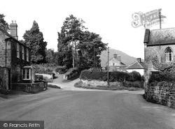 Weston Under Penyard, Post Office Corner c.1955