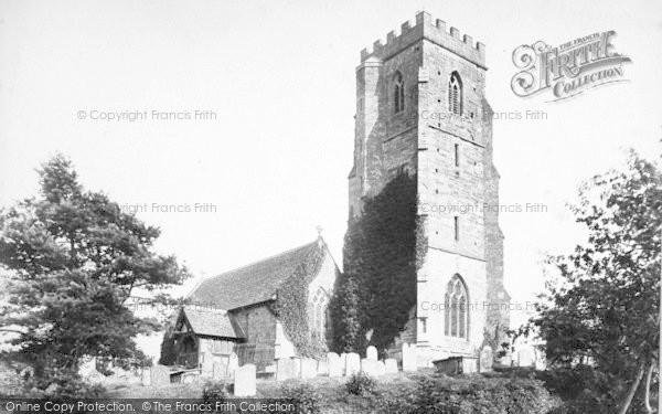 Photo of Weston Under Penyard, St Lawrence's Church 1906