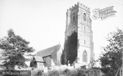 Weston Under Penyard, St Lawrence's Church 1906
