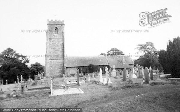 Photo of Weston Under Penyard, The Church c.1965