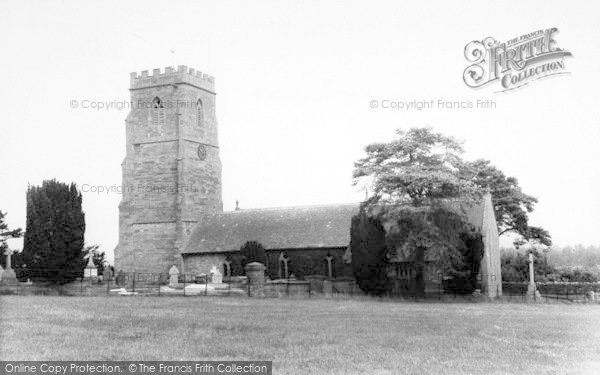 Photo of Weston Under Penyard, The Church c.1965