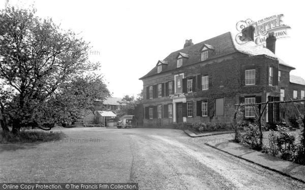 Weston Under Penyard, the Vicarage c1955