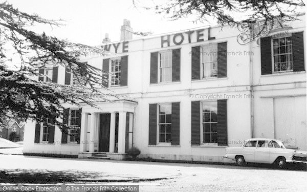 Photo of Weston Under Penyard, The Wye Hotel c.1965