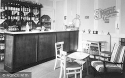 Weston Under Penyard, The Wye Hotel, The Bar c.1955