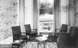 Weston Under Penyard, The Wye Hotel, The Bar Lounge c.1955