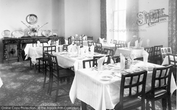 Photo of Weston Under Penyard, The Wye Hotel, The Dining Room c.1955