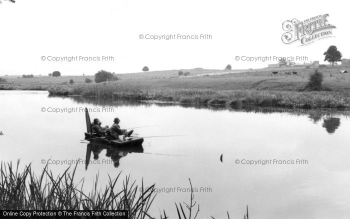 Photo of Weston Under Redcastle, Hawkstone Park, Fishing On The Lake c.1965