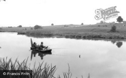 Weston Under Redcastle, Hawkstone Park, Fishing On The Lake c.1965, Weston