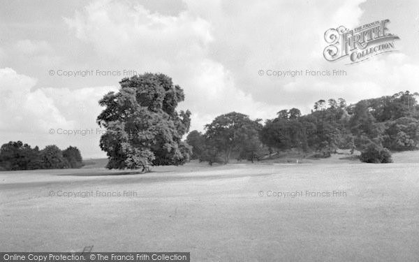 Photo of Weston Under Redcastle, Hawkstone Park From The 1st Tee c.1950