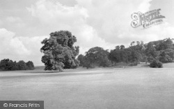 Weston Under Redcastle, Hawkstone Park From The 1st Tee c.1950