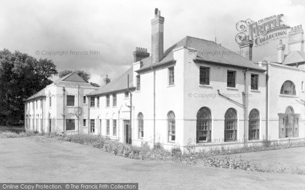 Photo of Weston Under Redcastle, Hawkstone Park Hotel c.1950