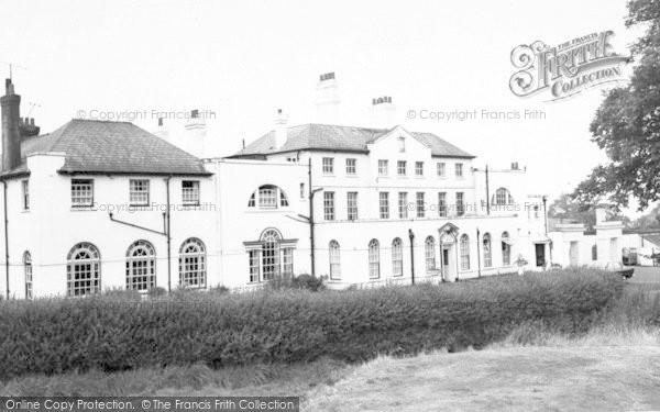 Photo of Weston Under Redcastle, Hawkstone Park Hotel c.1965