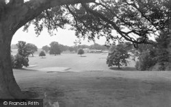 Weston Under Redcastle, Hawkstone Park Hotel From The Golf Course c.1950