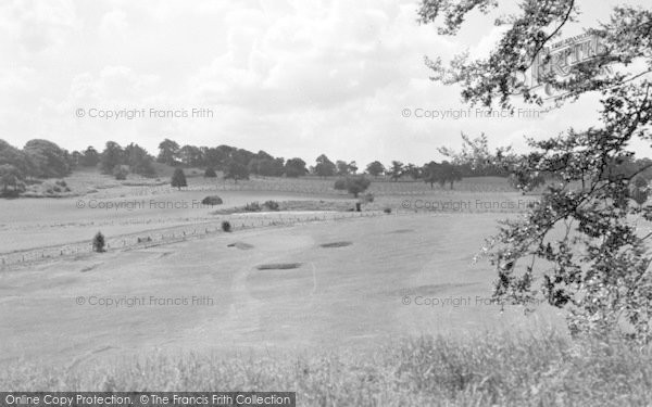Photo of Weston Under Redcastle, Hawkstone Park Hotel Golf Course 2 c.1950