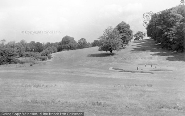 Photo of Weston Under Redcastle, Hawkstone Park Hotel, The Golf Course 4 c.1950