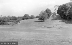 Weston Under Redcastle, Hawkstone Park Hotel, The Golf Course 4 c.1950