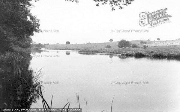 Photo of Weston Under Redcastle, Hawkstone Park Lake c.1965