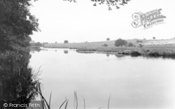 Weston Under Redcastle, Hawkstone Park Lake c.1965