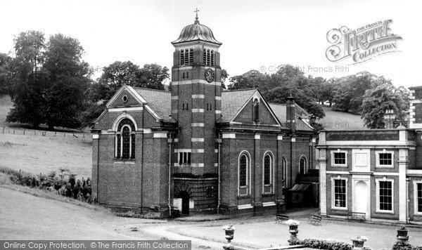 Photo of Weston Under Redcastle, St Joseph's Church, Hawkstone Hall c.1960