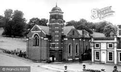 Weston Under Redcastle, St Joseph's Church, Hawkstone Hall c.1960