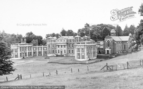 Photo of Weston Under Redcastle, St Joseph's, Hawkstone Hall c.1960