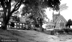 Weston Under Redcastle, St Luke's Church c.1955