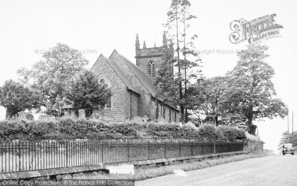 Photo of Weston Under Redcastle, The Church c.1955