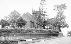 Weston Under Redcastle, The Church c.1955
