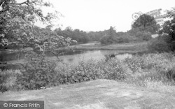Weston Under Redcastle, The Lake, Hawkstone Park Hotel c.1950