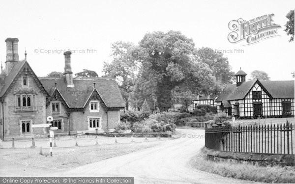 Photo of Weston Under Redcastle, The Village c.1955