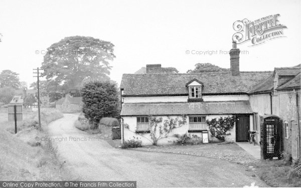 Photo of Weston Under Redcastle, The Village c.1955