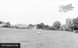 Weston Underwood, St Laurence's Church And Village c.1955