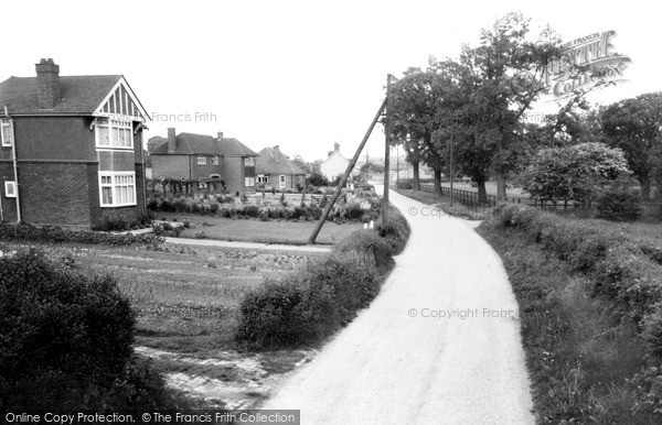 Photo of Westoning, Church Road c.1960