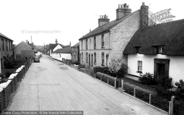 Photo of Westoning, Church Road c.1960