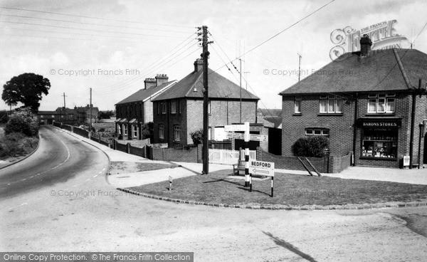 Photo of Westoning, Flitwick Road c.1960