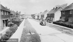 Spensley Road c.1955, Westoning