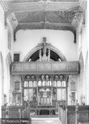 Westonzoyland, Church Of St Mary The Virgin Interior c.1955