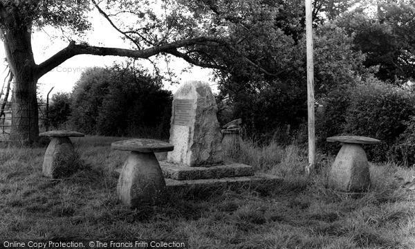 Photo of Westonzoyland, Sedgemoor Battle Memorial c.1960