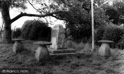Westonzoyland, Sedgemoor Battle Memorial c.1960