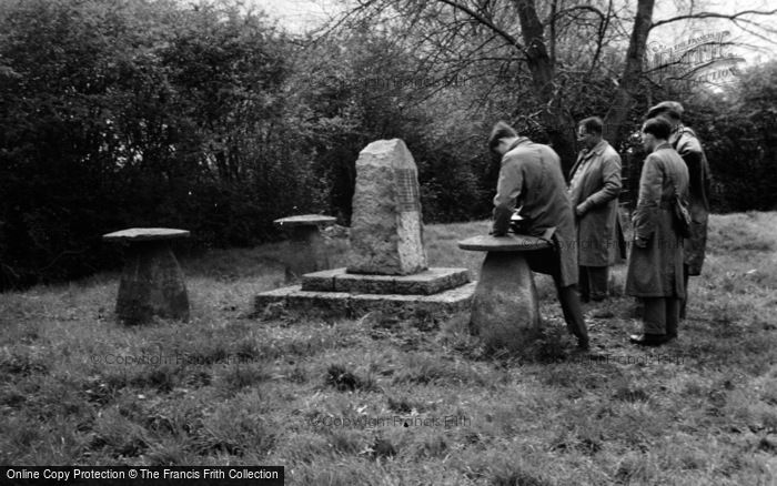 Photo of Westonzoyland, Sedgemoor Battle Monument 1952
