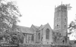 Westonzoyland, The Church c.1955