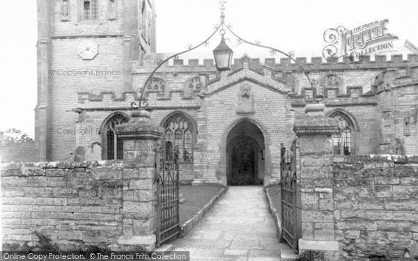 Photo of Westonzoyland, The Church c.1955