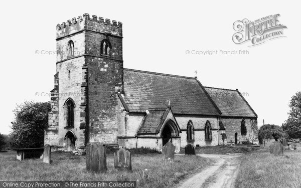 Photo of Westow, St Mary's Church c.1965