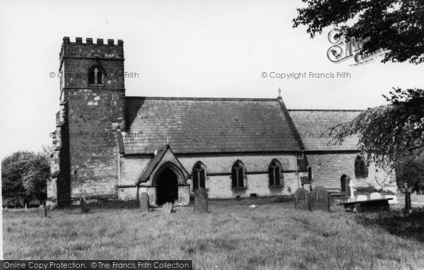 Photo of Westow, St Mary's Church c.1965