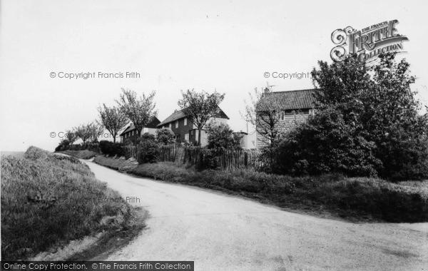 Photo of Westow, The Village c.1965