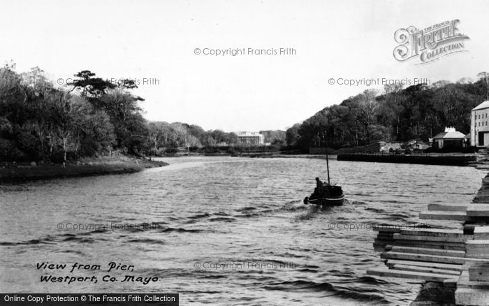 Photo of Westport, View From The Pier c.1950