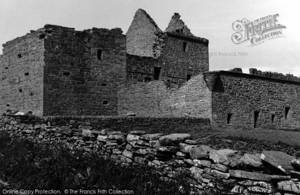 Photo of Westray, Noltland Castle 1954